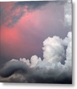 Something In The Clouds Metal Print