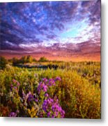 Sometimes It Is The Little Things Metal Print
