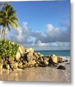 Somewhere in Barbados Metal Print