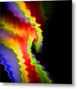 Somewhere In The Night Metal Print