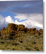 Somewhere Out West Metal Print