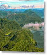 Over Alaska - June  Metal Print
