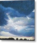 Somewhere The Sun Is Shining Metal Print