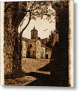 Somewhere'n Toscana Metal Print