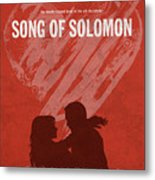 Song Of Solomon Books Of The Bible Series Old Testament Minimal Poster Art Number 22 Metal Print