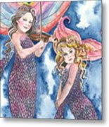 Song Of The Sirens Metal Print