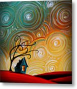 Songs Of The Night Metal Print by Cindy Thornton