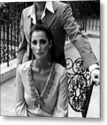 Sonny & Cher, Sonny Top, Cher Bottom Metal Print