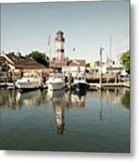 Sono Seaport Metal Print