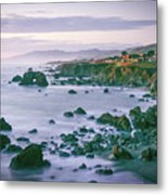 Sonoma Coast Shoreline Metal Print