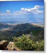 Sonoran Hillside Lookout Metal Print
