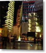 Sony Center Metal Print