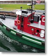 Soo Tug Boat Metal Print