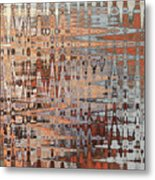 Sophisticated - Abstract Art Metal Print