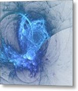Sorching Blue Heaven Metal Print