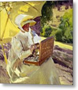 Sorolla: Painter, 1907 Metal Print