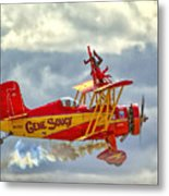 Soucy In Flight Metal Print