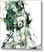 Soul Of A Troubled Lady Metal Print