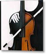 Soul Of Music Metal Print
