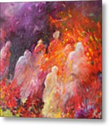 Souls In Hell Metal Print