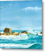 Sound Of Surf Metal Print