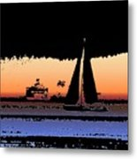 Sound Sailin 2 Metal Print