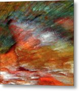 Sounds Of Thunder Abstract Metal Print