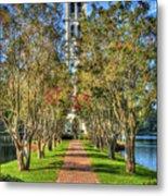 Sounds Of Victory The Bell Tower Furman University Greenville South Carolina Art Metal Print