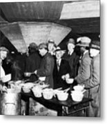 Soup Kitchen, 1931 Metal Print