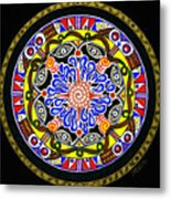 Source  Of  Wisdom  And  Power Metal Print