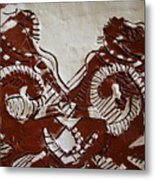Sources  - Tile Metal Print