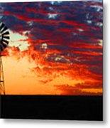 South African Sunrise Metal Print