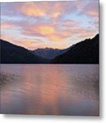 South Argentina Villarino Lake Metal Print