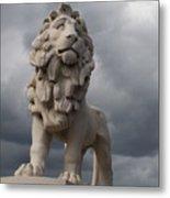 South Bank Lion.  Metal Print
