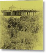 South Beach Pavilion Metal Print