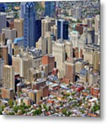 South Broad Street Philadelphia Metal Print
