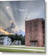 South Carolina Fire Academy Tower Metal Print