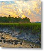 South Carolina Summer Sunrise Metal Print