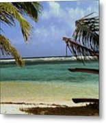 South Caye Belize Metal Print