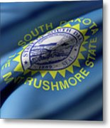 South Dakota State Flag Metal Print