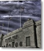 South End Soldier Field Metal Print by David Bearden