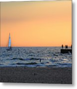 South Haven Sunset Metal Print