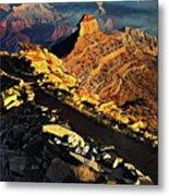 South Kaibab Trail - Grand Canyon Metal Print