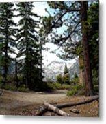 South Lake Tahoe Mountain Trail Metal Print