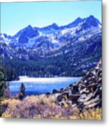 South Lake Metal Print