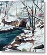South Main Street Bridge Metal Print
