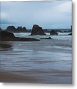 South Of Indian Beach Metal Print