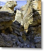 South Of Pryors 16 Metal Print