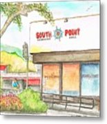 South Point Restaurant, West Hollywood, California Metal Print