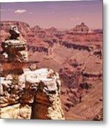 South Rim, Grand Canyon Metal Print